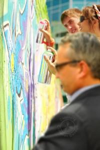 teambuilding graffiti bendull